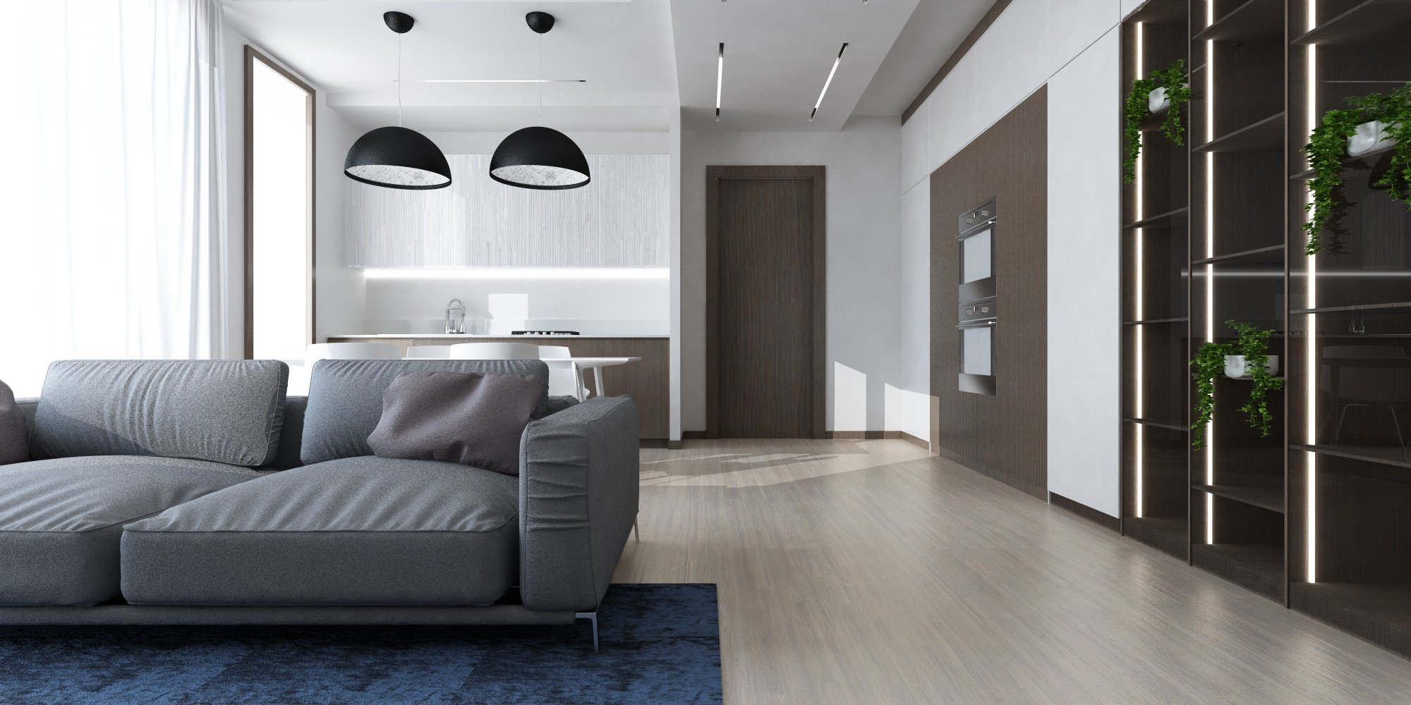 Sp Interior Design Dividere Un Open Space Controsoffitti E Tagli Di Luce